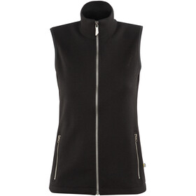 Ivanhoe of Sweden Flisan Vest Women black